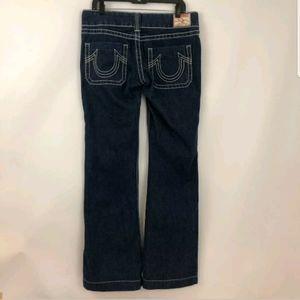 True Religion Women's Size 31 x 33 Denim Blue Jean
